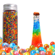 Gel Water Beads Transparent Jelly Pearls Crystal Water Gel Bead Rainbow Mix
