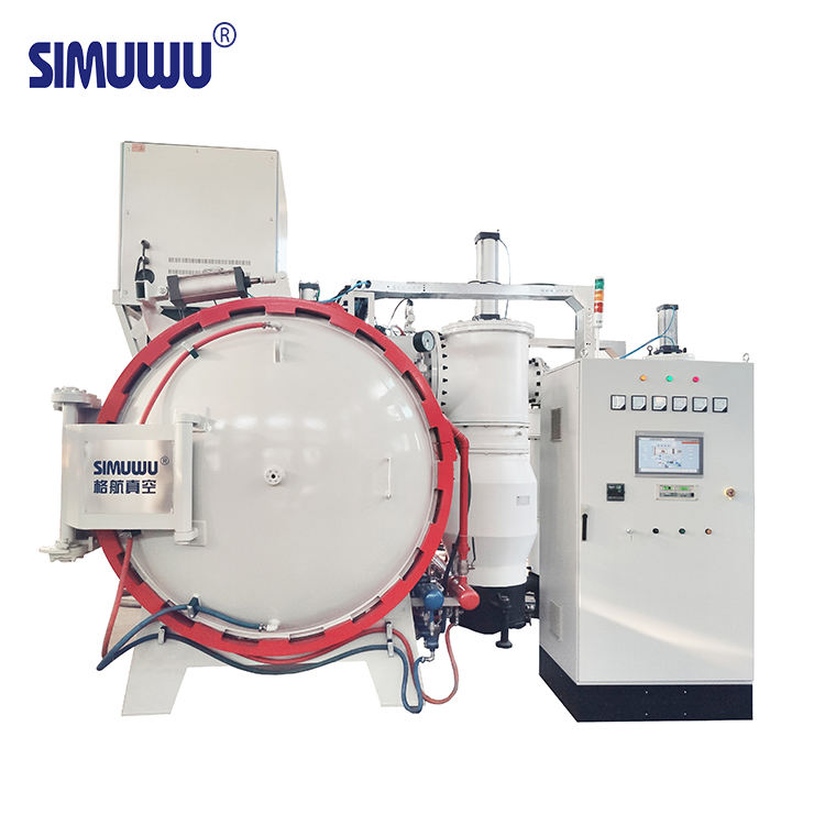 Vacuum furnace for brazing sintering heat treatment