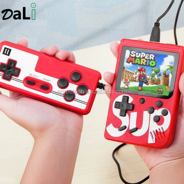400 in 1 Mini Controle De Sup Games Console Player Boy Console 2 Player Video Box Classic Retro Sup X Game for Two Players