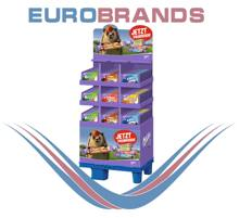 Display Milka bars x5 mix / Riegel 5er, 187pcs