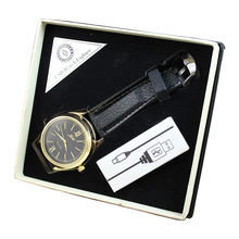 Wholesaling creative smoking accessories rechargeable electric usb lighter watch