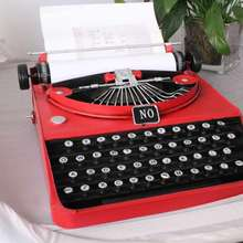 emulational Vintage Typewriter model for home or office decoration