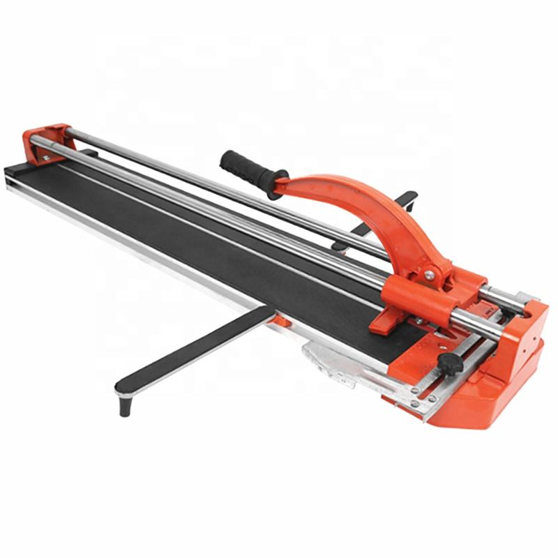 Portable manual tile cutting machine hand tile cutter with parallel and angled cuts