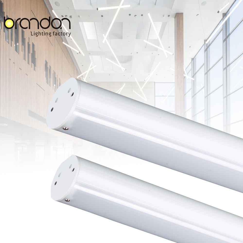 Hospital office building led luminaires surface mounted lighting fixtures indirect linear decorative pendant light