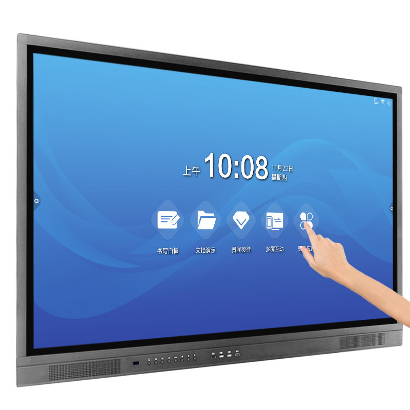 Riotouch 65 75 86 Inch 4K Led Android Smart Board <span class=keywords><strong>Infrarood</strong></span> Onderwijs Apparatuur Touch Screen Monitor Interactieve Flat Panel