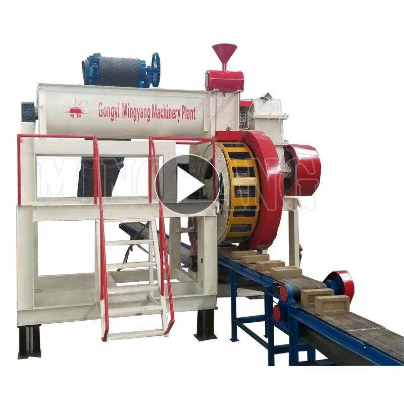 Auto semi auto clay brick making machine price in india fired soil brick production line