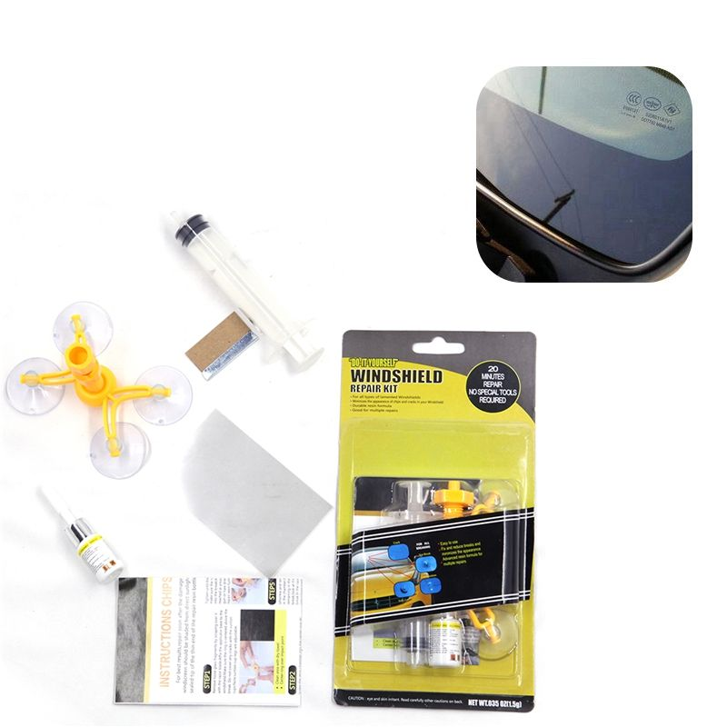 Windshield Repair Kit or Windshield Auto Glass and Rock Chip Repair