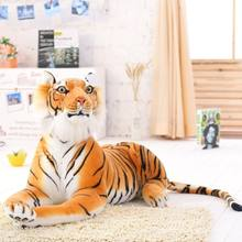 Hot 2019 Lovely New Lifelike Soft  leopard Siberian tiger plush Stuffed Doll Plush simulation Animal Toys