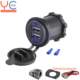 3.1A Car Charger Dual USB 12V USB Charging Port Mobile Phone