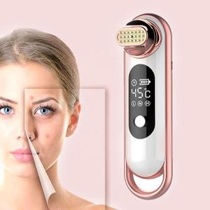 Korea Personal Facial Skin Care Beauty Products Lifting Massager Home Use EMS RF Vibration Temperature Control Beauty Device