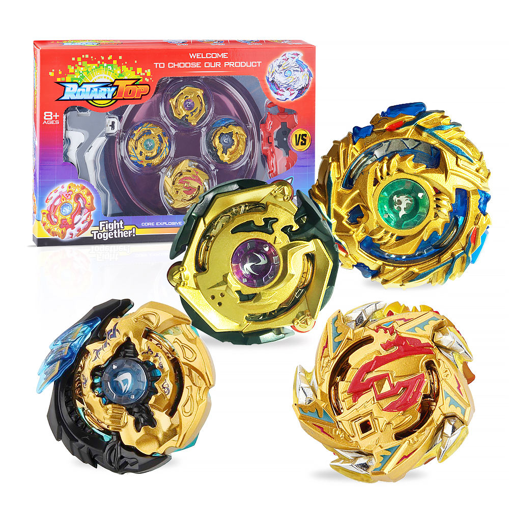 Launcher Box Set Gyro Toys for Kids Ingooood High Performance Tops Attack Set with Launcher Grip Starter Set Arena