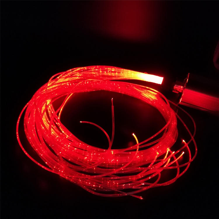 Декоративные 700 м/катушка волоконно-оптический 1,5 мм Пластиковые оптические <span class=keywords><strong>волокна</strong></span> ПММА светящееся