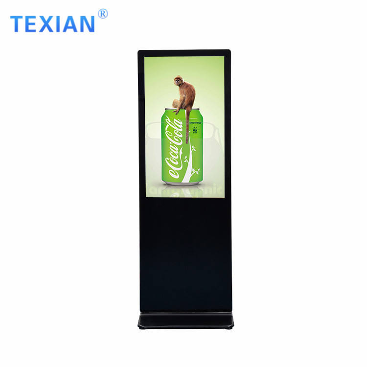 Digital Signage [ Totem Screen ] Floor Standing Advertising Screens Digital Signage Indoor Floor Stand Lcd Media Player Android Display Portable Kiosk Totem Vertical Advertising Screen