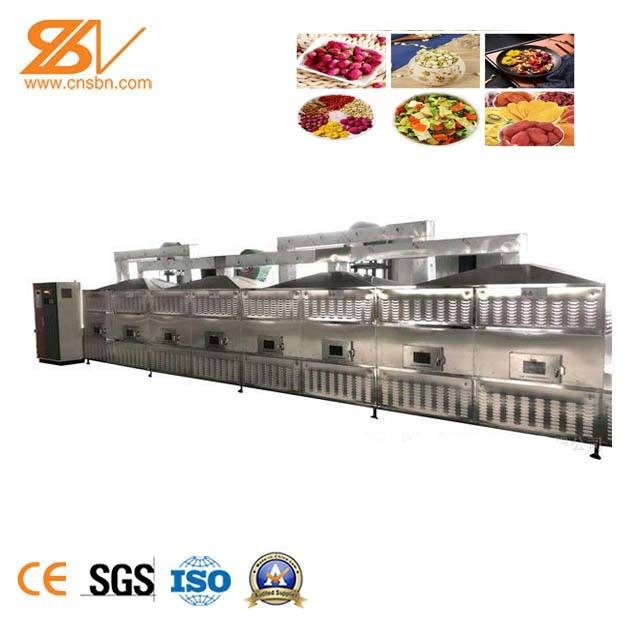 Full Automatic Microwave Drying and Sterillizing Device for Bean Product Microwave Dryer Machine Microwave Belt Dryer