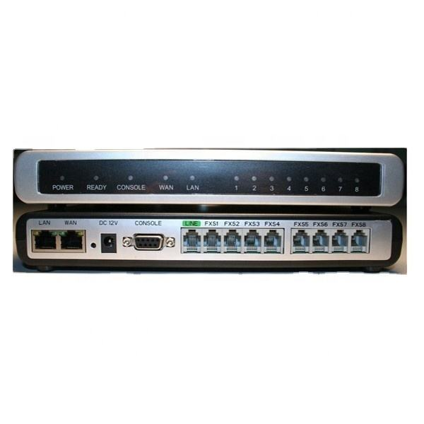 Grandstream GXW4008 8 FXS ports voip and analog gateway