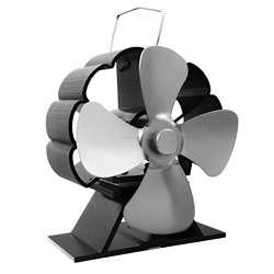 4 Blade Mini Heat Powered Stove Fan
