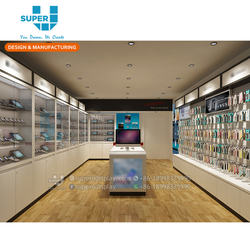 Customized Mobile Phone Showroom Display Design Brand Showro