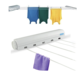 Wall Mounted Hanger Retractable Indoor Clothes Hanger Drying Rack Towel Rack Automatic Telescopic Clothesline Clothes Dryer