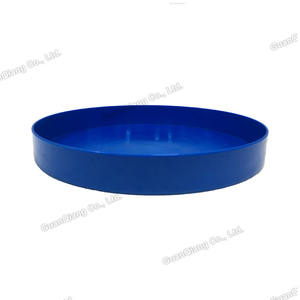 Cafe serving hotel beer round medium size coffee plastic service tray