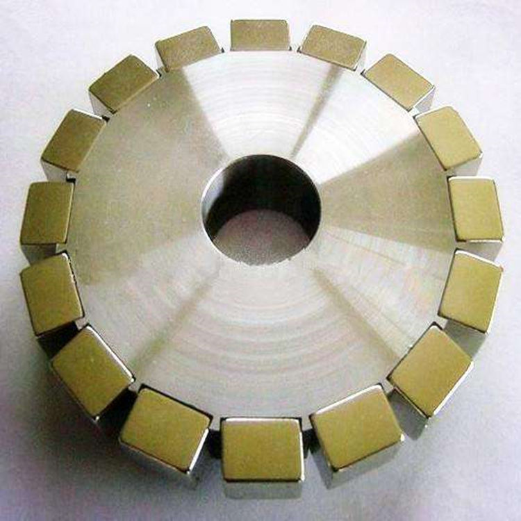 High Quality Permanent Magnetic Array Segment Neodymium Magnet Forms A Ring For The Motor