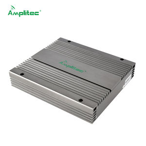 Amplitec 27dBm 900-2100MHz Mobile Signal Booster 2G 3G Repeater Gain 80dB GSM + WCDMA Dual Band BTS Amplifier