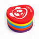 4-6 inch household customized colorful carpet circle magic tape, hook and loop tape, in kindergarten