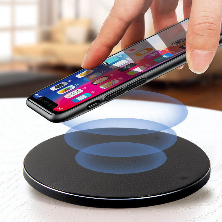 High Quality Custom Logo Qi 10w Wireless Charger