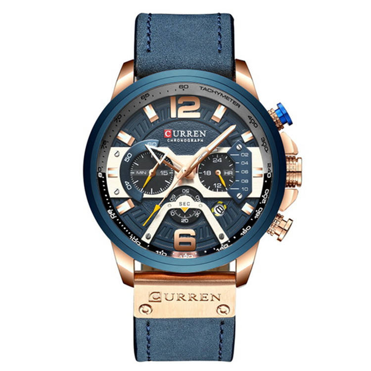 2020 Hot sale men watch waterproof in wristwatches set cheap price bracelet curren 8329 men watch oem custom logo