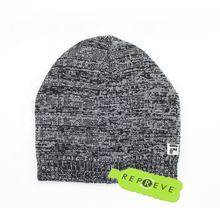 men's winter sport running jacquard 55% recycled fabric 45% acrylic beanie