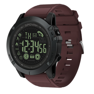 Spovan Waterproof Rugged Bluetooth Smart Watch With Pedometer