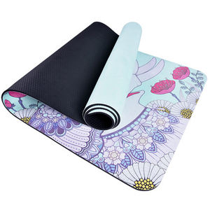 Hotsale Custom Brand Logo Screen Printing Eco Friendly Suede Yoga Mat