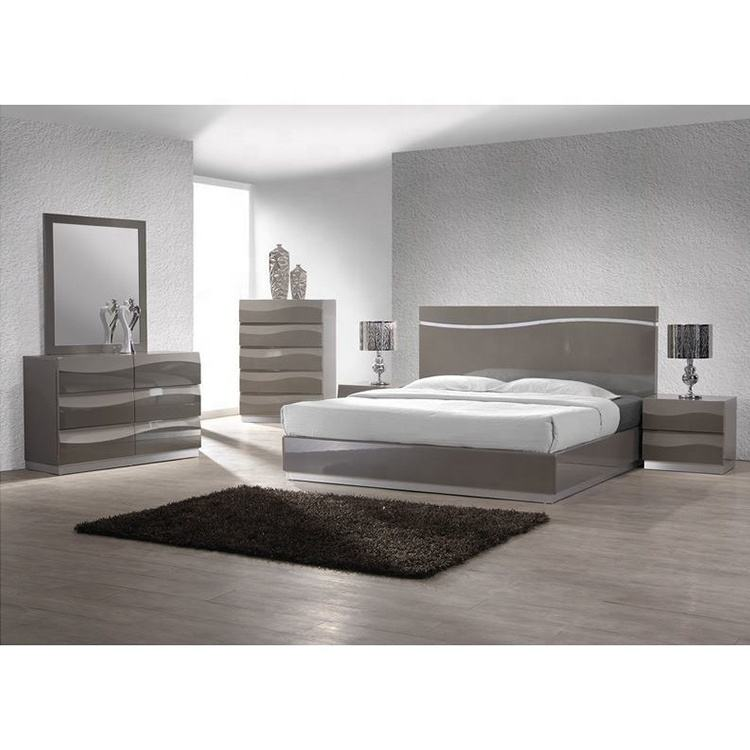 Modern Set Bed Room Furniture MHAA010 Luxury King Size Bed
