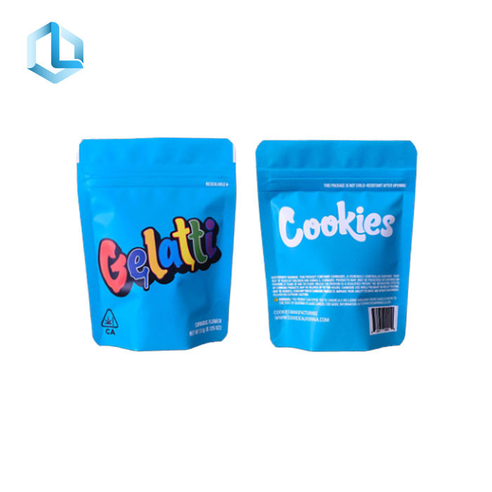 High Quality High Quality Air Tight Custom Printed Foil Laminated Mylar Zip Lock Bags For Gummy Bear Packaging bags