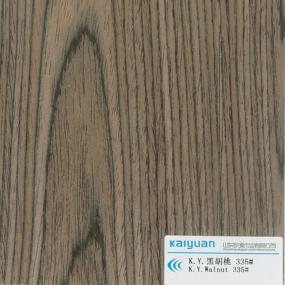 Kaiyuan Sliced Cut Engineered Wood Veneer##Walnut 335