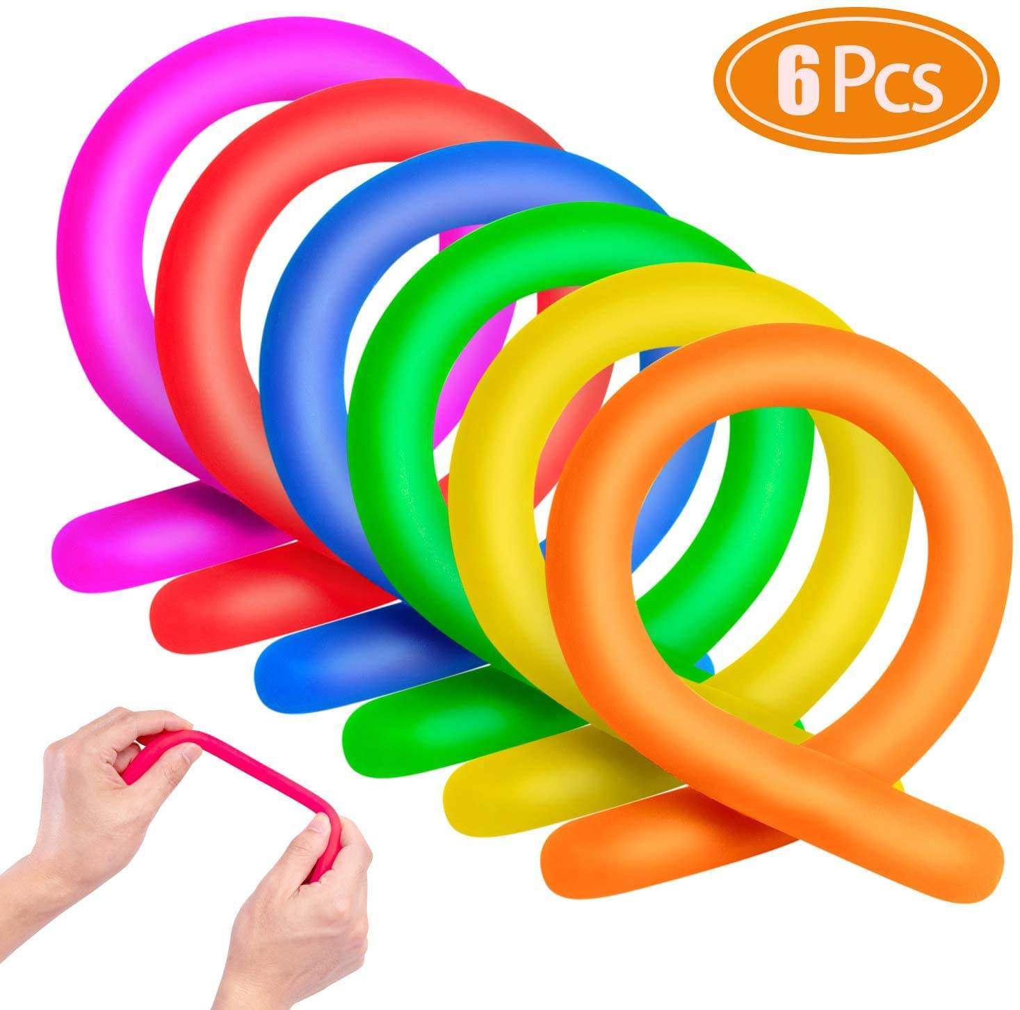 28 Cm Kinderen Volwassen Decompressie <span class=keywords><strong>Speelgoed</strong></span> Lichtgevende Noodle Stretch String Tpr Touw Anti-Stress <span class=keywords><strong>Speelgoed</strong></span> String Fidget Autisme Vent <span class=keywords><strong>Speelgoed</strong></span>