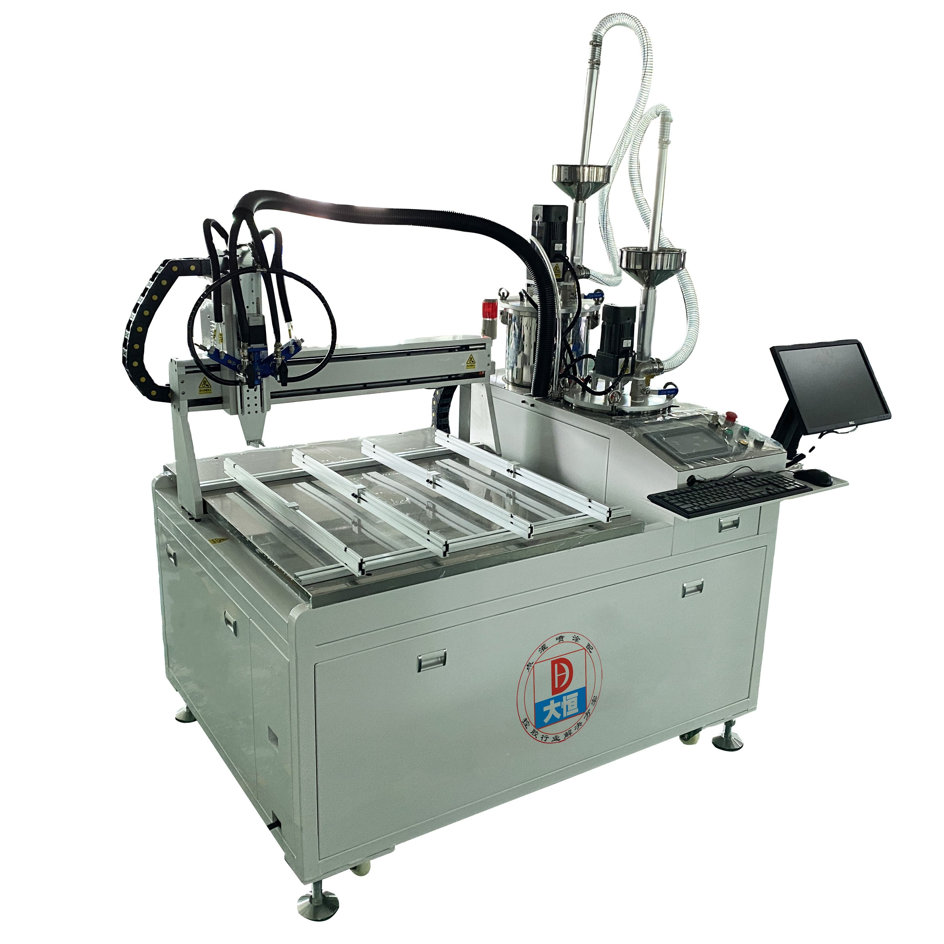 CNC 3 axis 2K AB glue potting silicone epoxy resin glue dispenser automatic machine