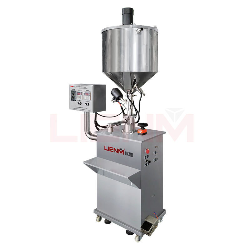 High quality Automatic Constant Temperature ointment automatic liquid bottle filling and bottle unscramble filler machine