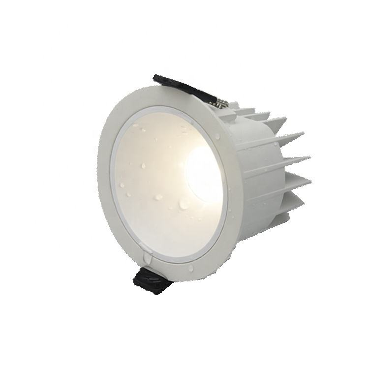 50000 시간 toile 욕실 Natatorium 빛 6W 10W 12W 15W 18W 25W 30 40 w dimmable IP67 LED cob 야외 downlights IP65