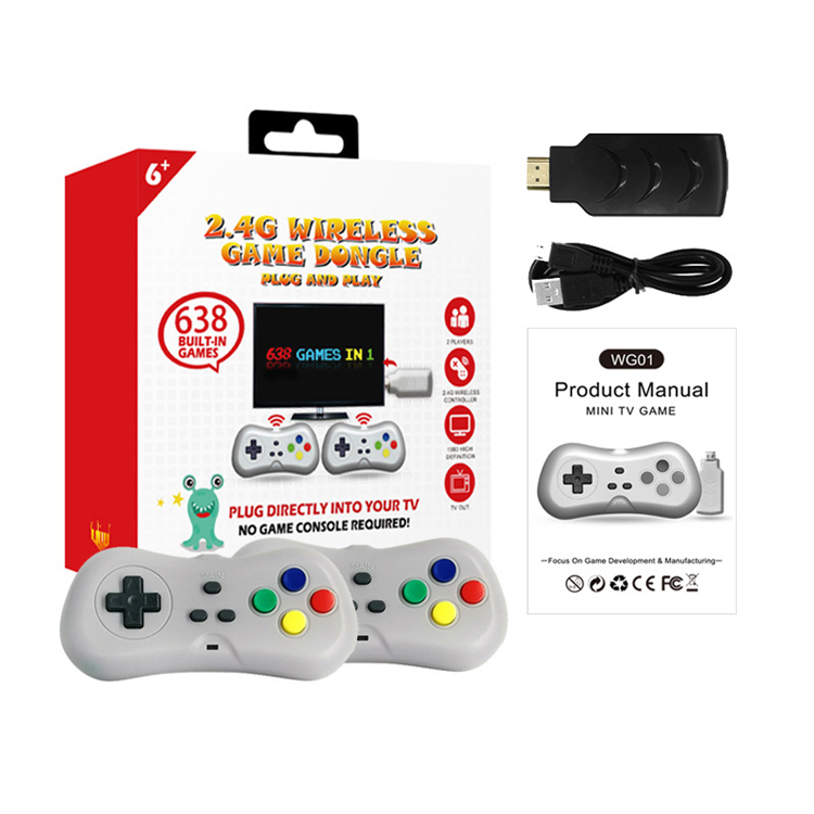 2019 wireless game controller directly connected handle for game console for HD game