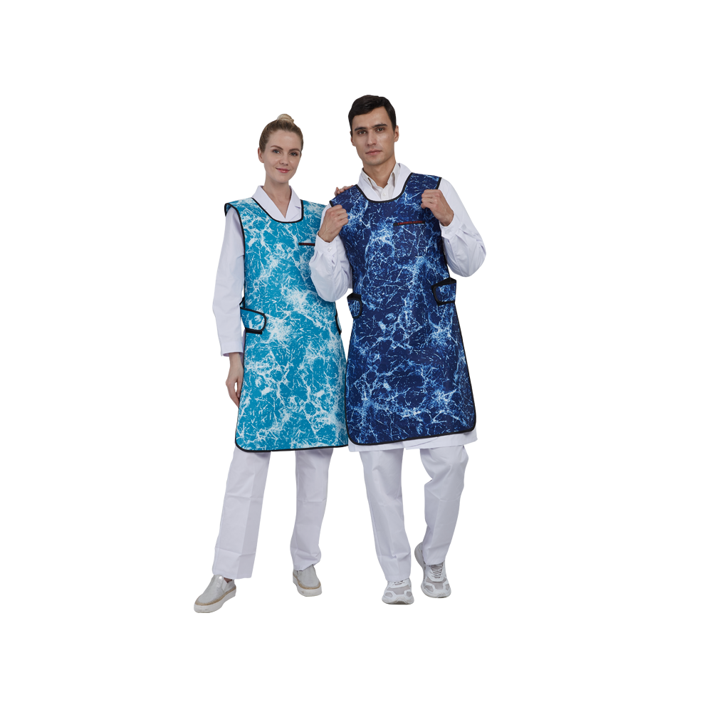 New design medical X-ray protection materials Lead Apron for hospital CT room testing