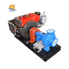 Farm agriculture centrifugal diesel powered irrigation water pump sets