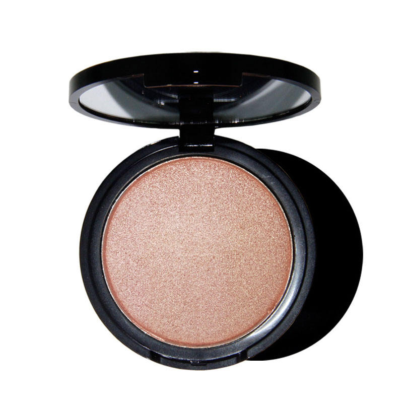 Easy colored high pigmented powder pressed highlighter brand your own face highlights
