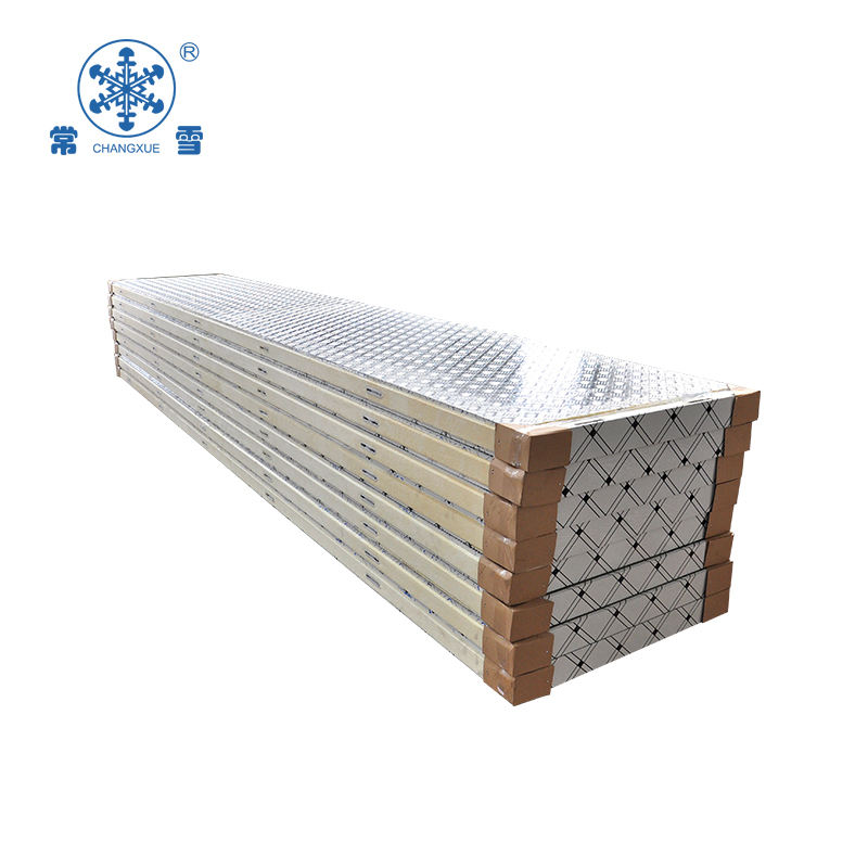 Cam lock pu sandwich panel with 304 stainless steel