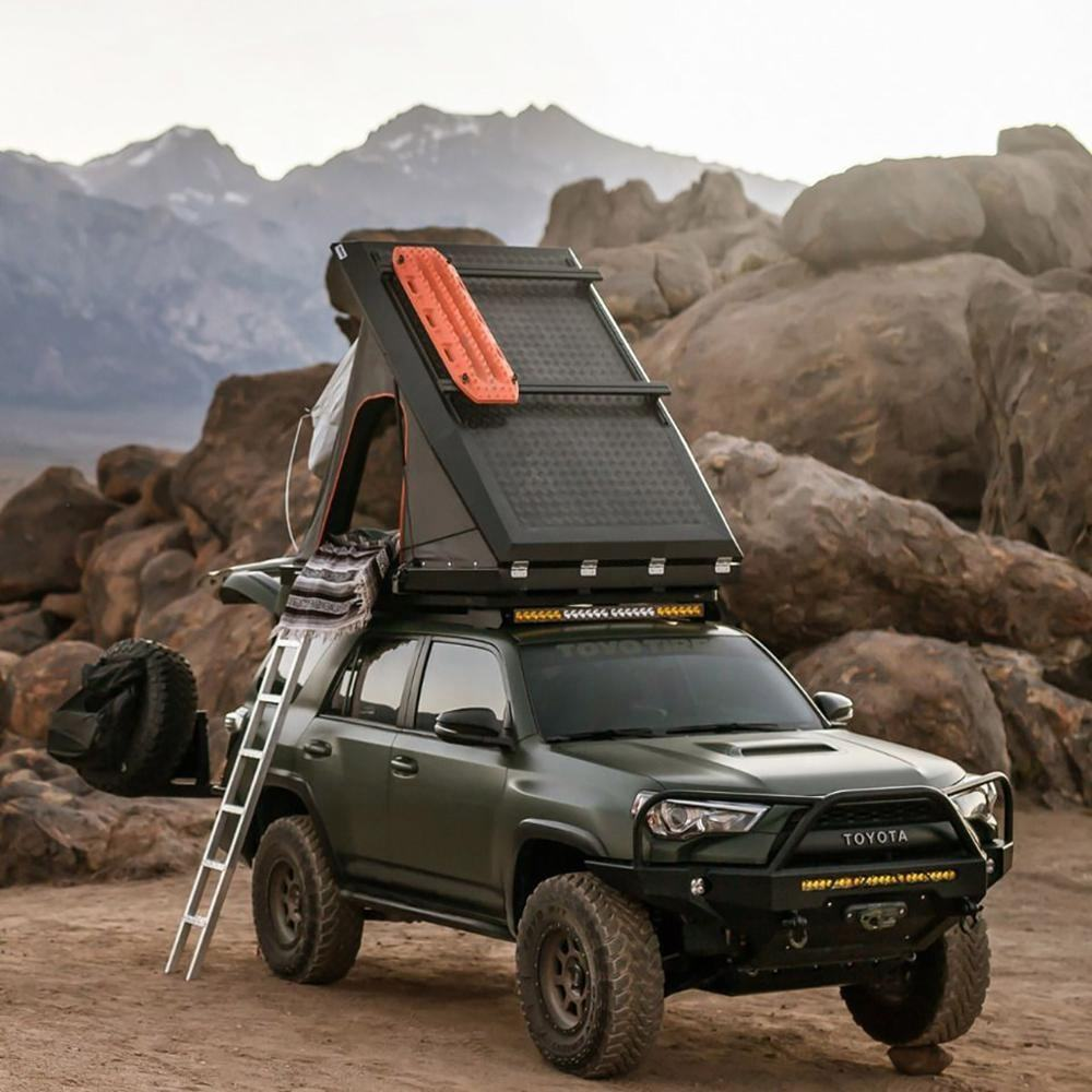 Off-road roof top tent Adventure car roof tent Aluminum load-bearing roof tent 4x4