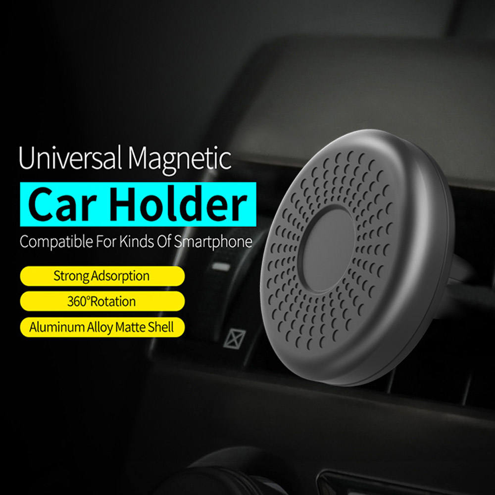 2020 Newest Magnetic Car Mount Phone Holder with Stylish Design and Stronger Magnetism Compatible with All Brands Smartphones