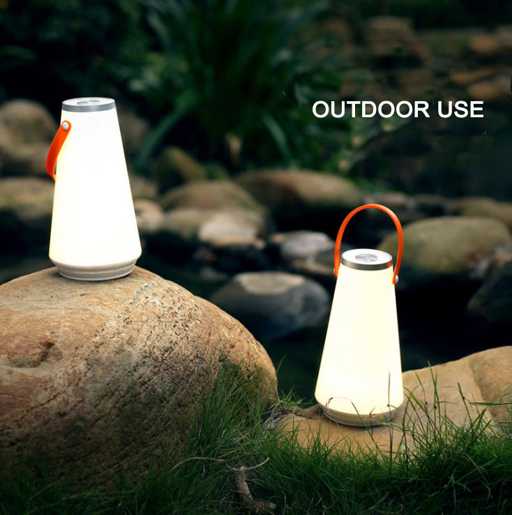 Company party beach night portable table lamp bedroom outdoor camping night light