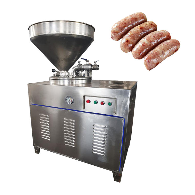 Stainless Steel Sausage Casings Sausage Stuffer Sheep Halal Casing Vacuum Sausage Filler Stuffer With Twister