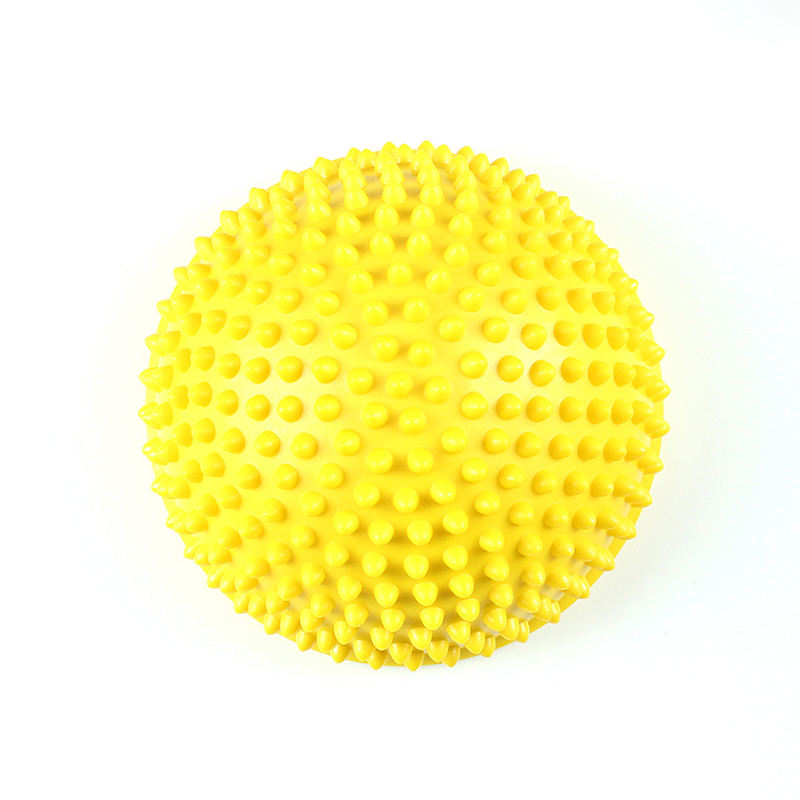 Massage Spiky Ball Multicolor Optional Balance Fitness Massage Ball With Logo Hemisphere Stepping Stones Big Massage Ball