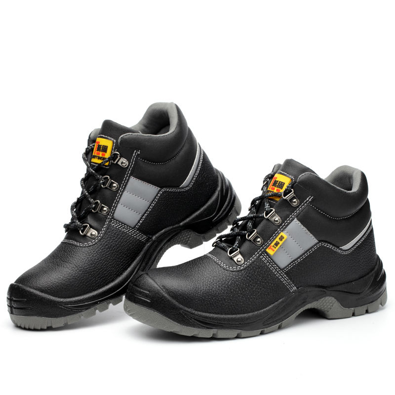 high quality winter anti static puncture steel toe cap work boots safety shoes