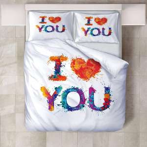 G&D 3D Setting High Definition Printing Quilt Bed Sheet